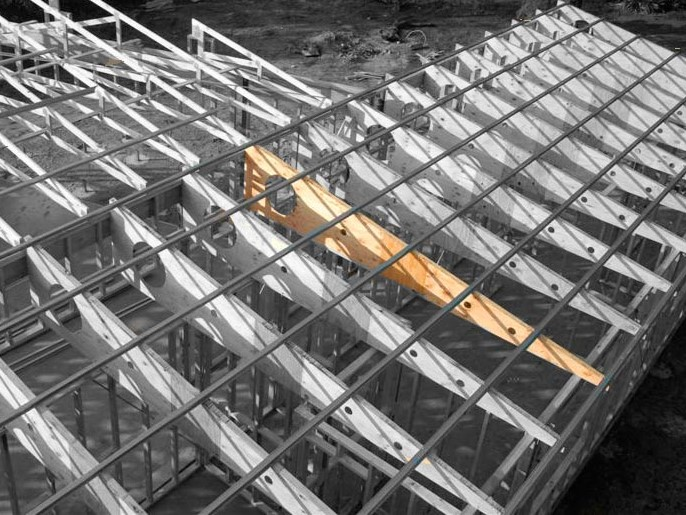 SmartRafter™: innovative composite beams for geometric roof shapes