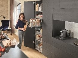Storage solutions: SPACE TWIN, SPACE CORNER and Sink Cabinet