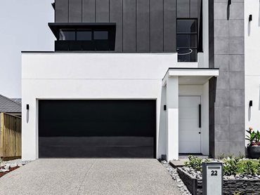 Hebel PowerProfile panels provide superior design flexibility for the external façade to suit every homeowner's style