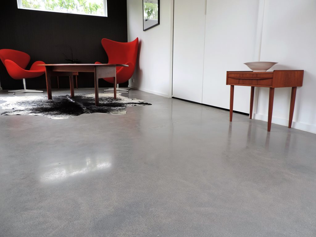 Real 10mm concrete overlays. Custom floor finishes