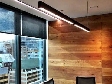 Minifile suspension LEDs at Fortress Funds Sydney office