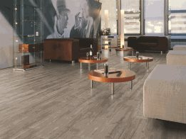 Water resistant laminate flooring by Kronotex