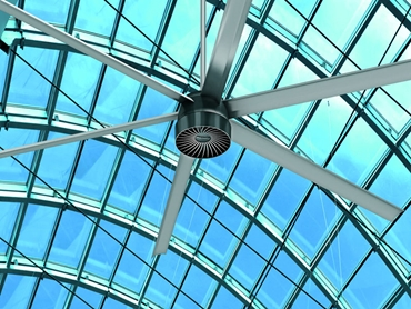 ​MacroAir HVLS Fans for Efficient, High Volume Cooling of Large Spaces