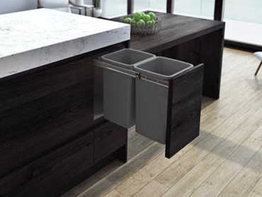 The new Cinder colour perfectly balances the bin's premium design with great value