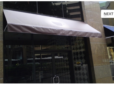 Drop Arm Awnings for Sun Control and Shade from Pattons Awnings l jpg