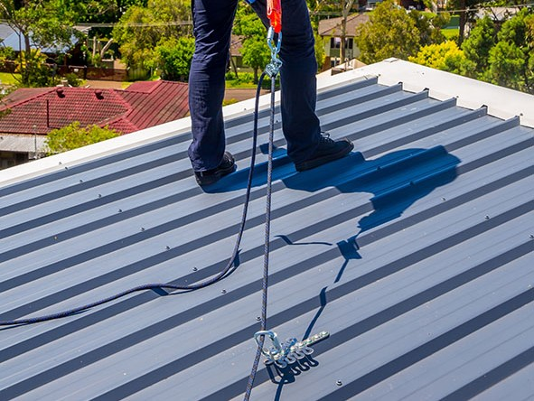 FrogLink Permanent Roof Anchors For Working At Heights