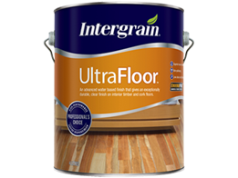 UltraFloor – Exceptionally durable, clear, water based finish