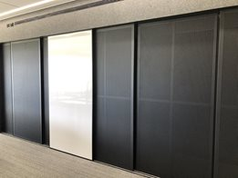 GLYDE® Decorative Screens and Doors for use in commercial buildings and high-end homes