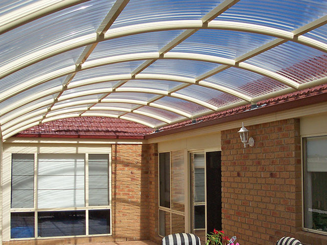 Sunglaze Solid Polycarbonate Standing Seam Architectural