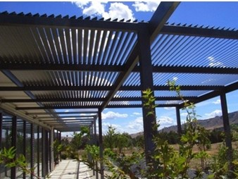 COLORBOND-Steel-and-Aluminium-Slatting-Louvres-Lattice-Superior-Screens sunshade