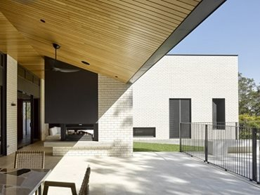 The brick was chosen for its robustness to withstand Queensland's harsh weather conditions