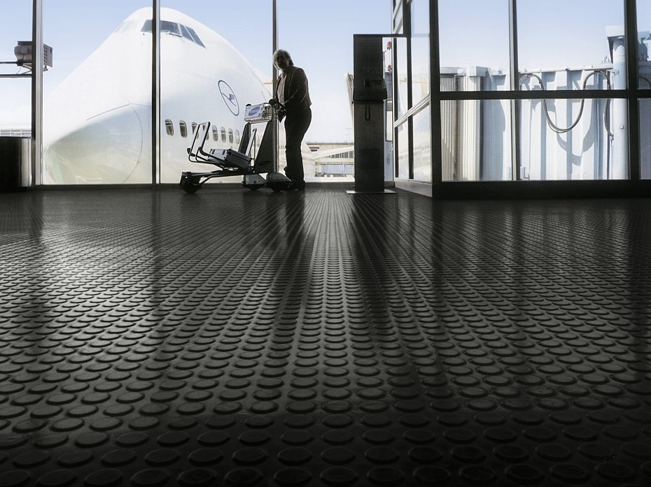 norament quality rubber commercial flooring tiles