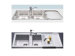 Kitchen Appliances and Bathroom Fittings from the Sink and Bathroom Shop