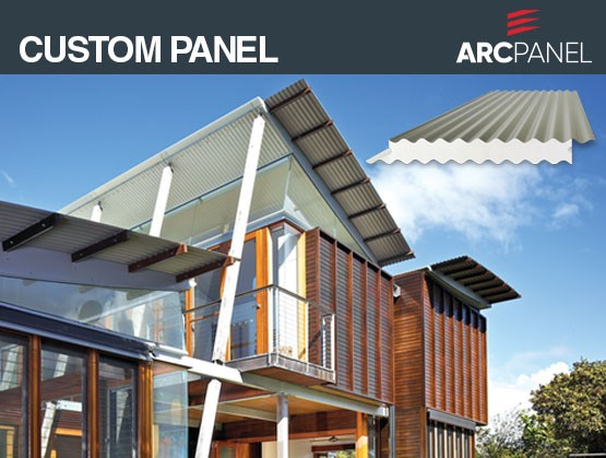 ARCPANEL Custom Panel: The all in one, straight, curved and multi-curved innovative roofing solution