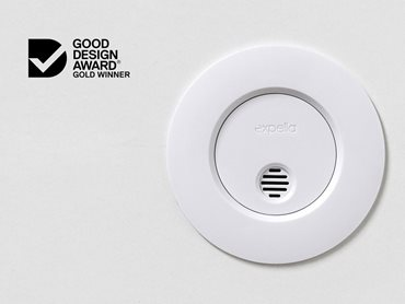 Expella's humidity sensor received a prestigious Good Design Award Gold