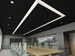 Ensemble™: Acoustical plasterboard ceiling system