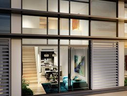 Louvre windows: Perfect for high-rise apartments