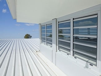 Louvre Windows by Safetyline Jalousie – Extra wide spans, impenetrable security & weatherproof seals