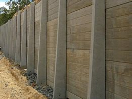 ​Concrete Sleeper Retaining Walls from Concrib