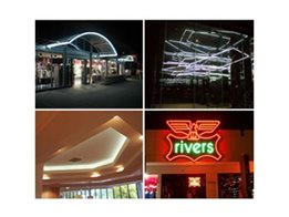 Architectural Neon Lighting Systems from Delta Neon