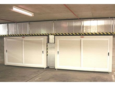 basement car park storage solutions from qwik store