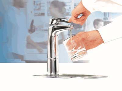 Premium instant filtered boiling and chilled drinking water systems