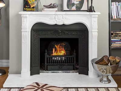 Product image of Schots marble mantlepiece