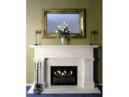 Stainless Steel Open Front Fireplaces from Real Flame