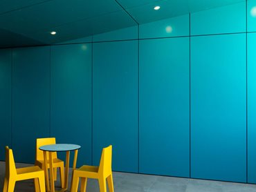 Dulux Duratec powdercoat colours were extensively used in the project