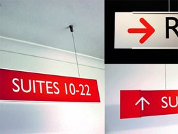 New, Flexible, Lightweight, Slimline sign system