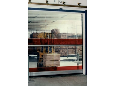 M.T.I. Qualos Vertical Opening Roll Fast Doors for Demanding Traffic Flow Applications