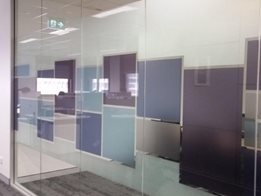 Decorative & frosted window film solutions for commercial buildings