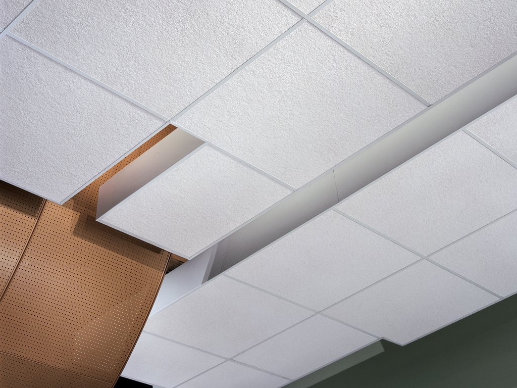 ​Ceiling Tiles and DONN® Brand Suspension and Drywall Grid Systems