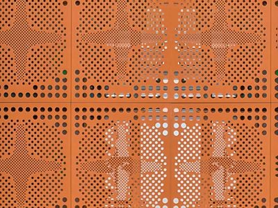 Supawood Custom Perforated Non-Combustible Panel