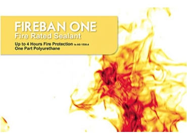 Fireban One the Tough, Flexible Fire Rated Seal by Bostik