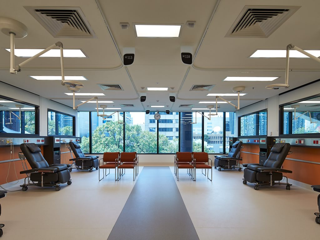 Healthcare lighting and lighting control solutions