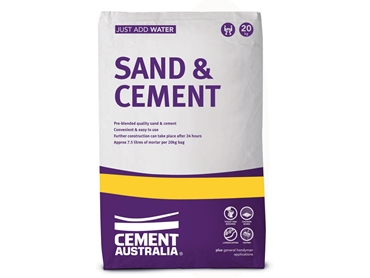 Cement Australia Sand Cement for use as a General Purpose Mortar Product l jpg