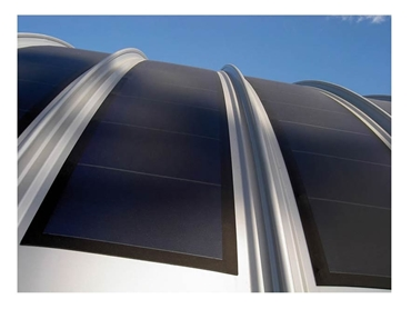Roof Integrated Solar Panels from Kalzip