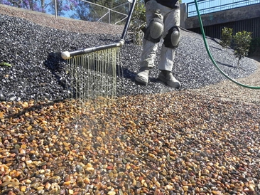 Pour On Gravel Binder - the solution to bind and stabilise loose