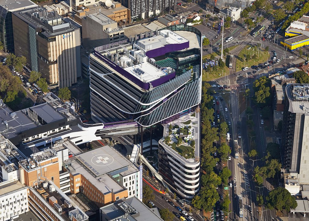 The Victorian Comprehensive Cancer Centre Architecture