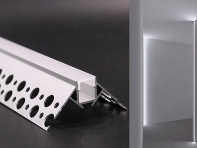 Product image of aluminium lighting profiles