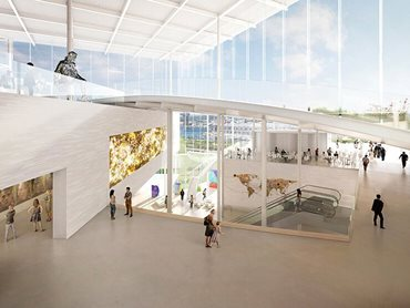 The project will increase the gallery's total exhibition space from 9,000 to 16,000 square metres