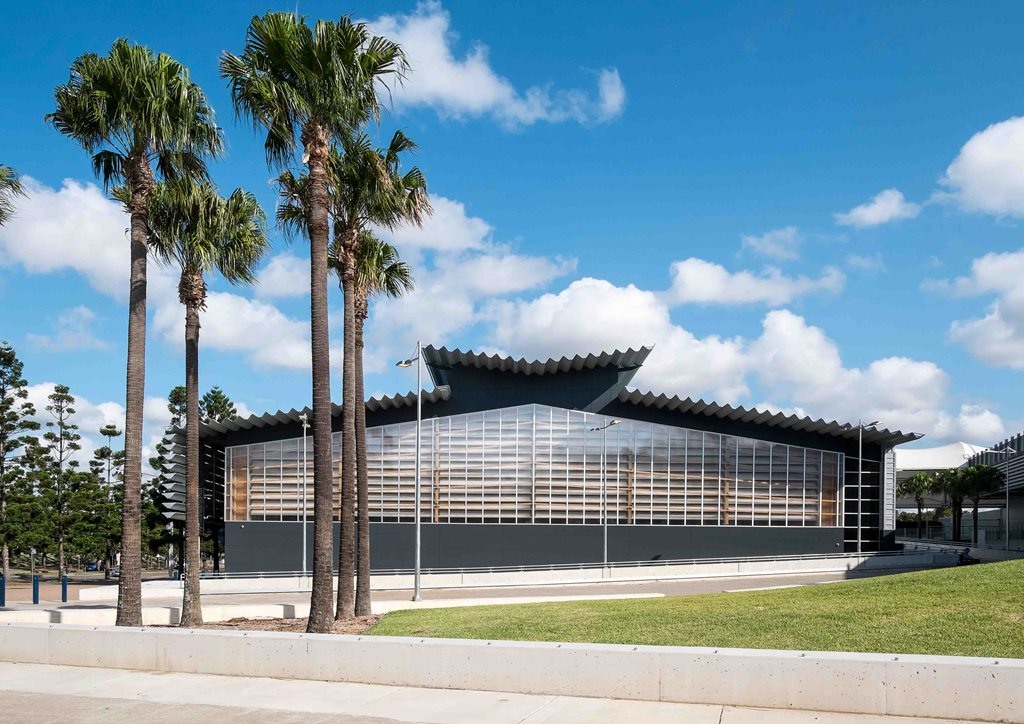Netball central by scott carver architecture and design for Architecture 770