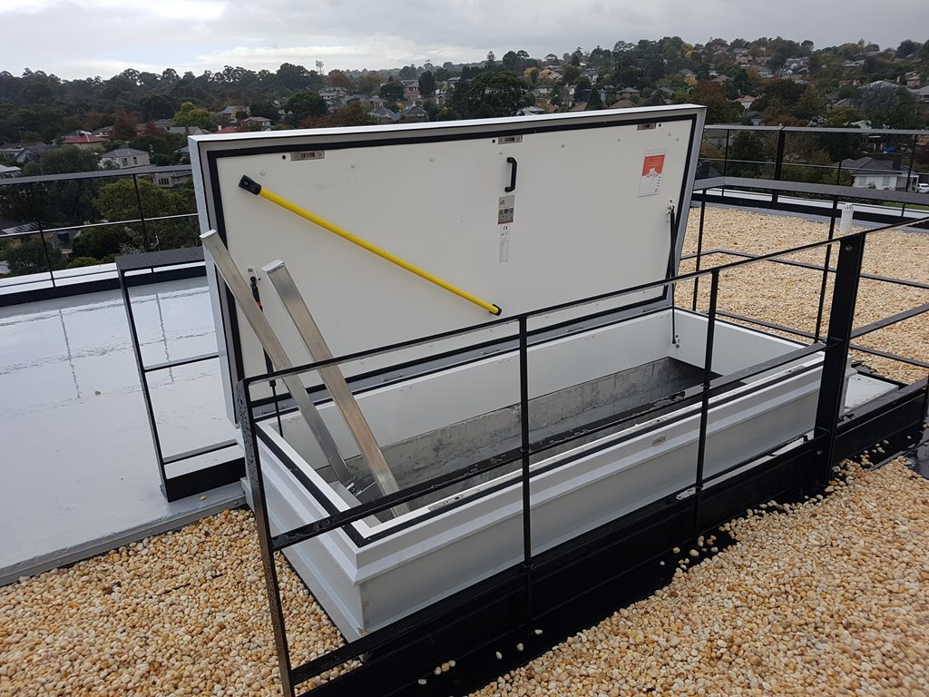 Aluminium Roof Hatch: Simple, practical and cost-effective roof access