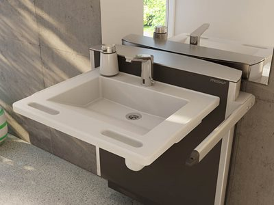 adjustable wash basin residential home