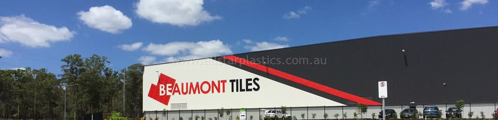 beaumont tiles installing signage
