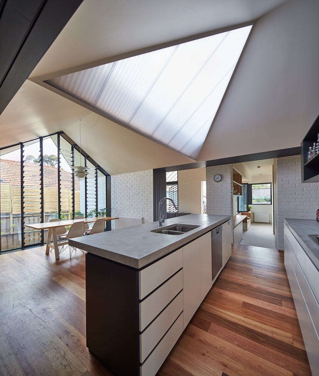 Opening Up Hip Amp Gable By Architecture Architecture