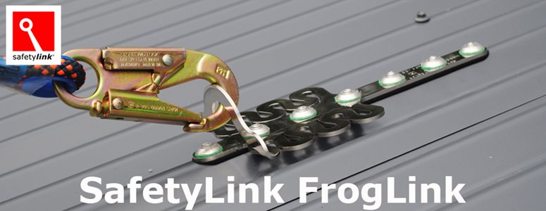 SafetyLink FrogLink roof anchor