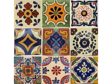 Decorative Mexican Tiles Moroccan And Spanish Ceramic Tiles By Old