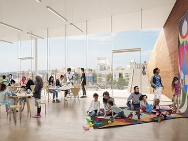 Sydney Modern Project will create dynamic galleries, dedicated spaces and facilities for learning and participation